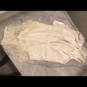 Other - BNWT Cream/white lace lingerie